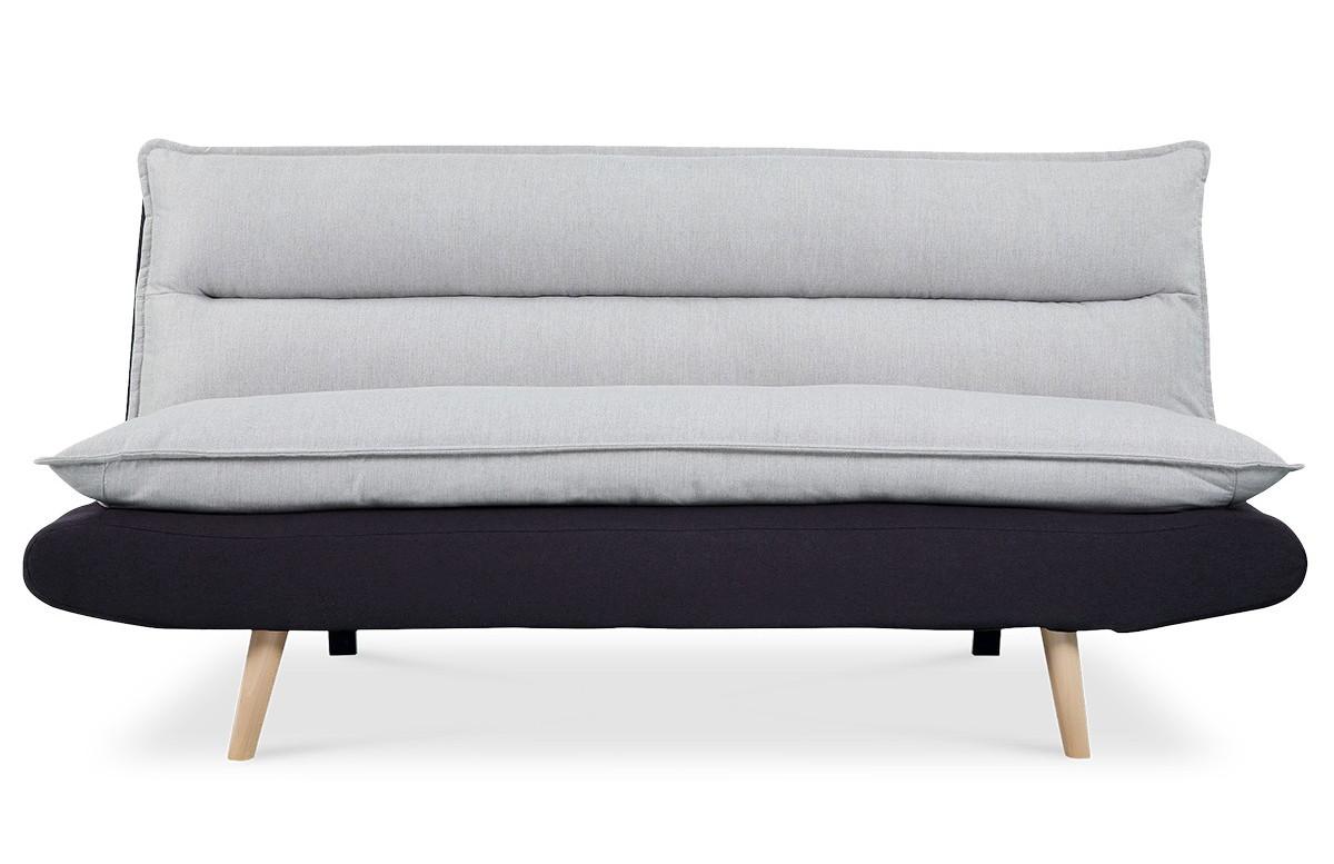 Canapé convertible noir JUDE