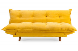Canapé convertible jaune PILLOW