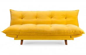Canapé convertible jaune PILLOW