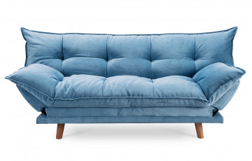 Canapé convertible bleu PILLOW
