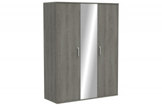 Armoire DIVINE 3 portes + miroir