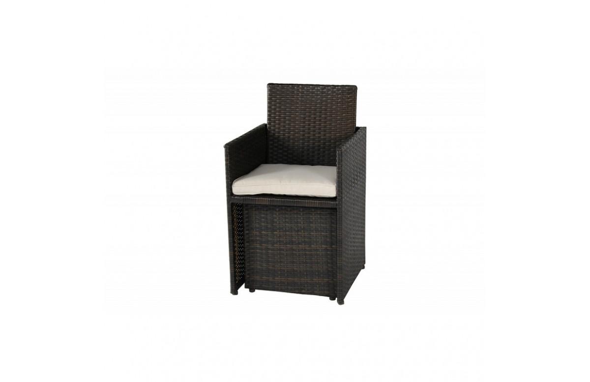 Coussin d'assise de fauteuil encastrable PVC