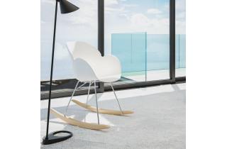 Chaise à bascule élégante et moderne - Knebel
