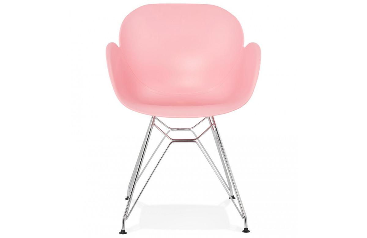Chaise révolutionnaire rose - Chipie