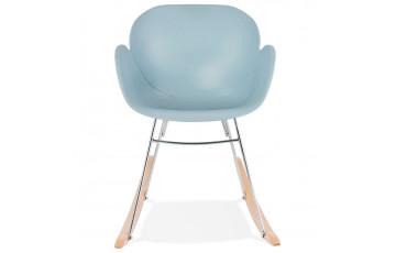 Chaise à bascule bleu - Knebel