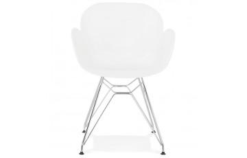 Chaise blanche confortable et design - Chipie