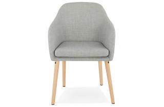 Chaise grise tendance et confortable - Miuk