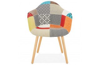 Fauteuil multicolore au design original - Loko