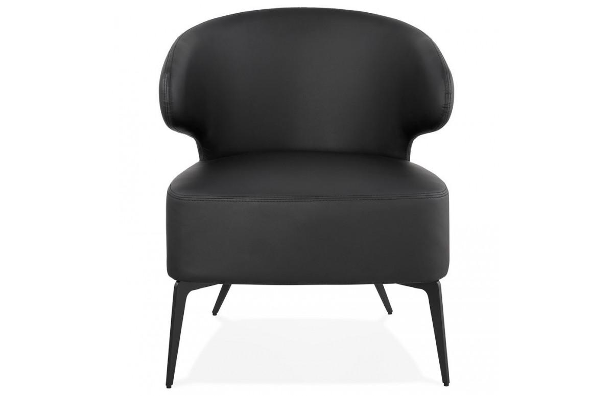 Fauteuil design noir - Gray