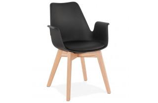 Fauteuil noir confortable et design - Alcapone