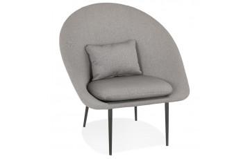 Fauteuil lounge gris clair - Parabol