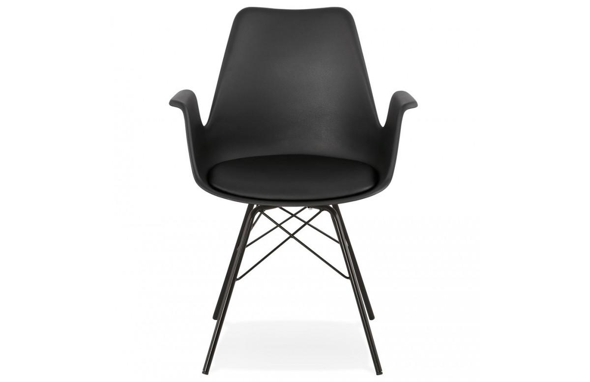 Chaise noires au look scandinave - Kokliko