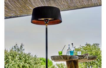 Parasol chauffant extérieur électrique Sirmione noir XL Favex