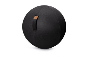 Balle de gym gonflable Jumbo Bag Sitting Balls Mesh Noir