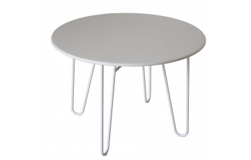 Table blanche 4 personnes DELORM