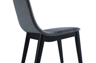 Chaise de jardin anthracite DELORM