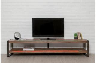 Meuble TV en bois recyclé DELORM