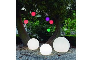Boule lumineuse d'extérieur filaire bully 20 blanc NEWGARDEN