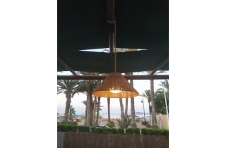 Luminaire suspendu d'extérieur rechargeable calobra hang NEWGARDEN