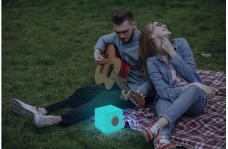 Cube lumineux d'extérieur bluetooth cuby 20 NEWGARDEN