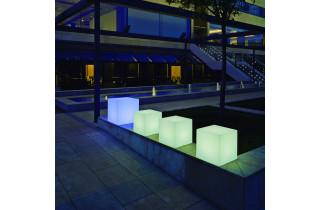 Cube lumineux d'extérieur cuby 45 wifi NEWGARDEN