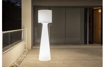 Lampe extérieure sur pied filaire grace 140 blanc NEWGARDEN