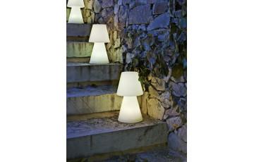 Lampe extérieure filaire à poser lola 30 blanc NEWGARDEN