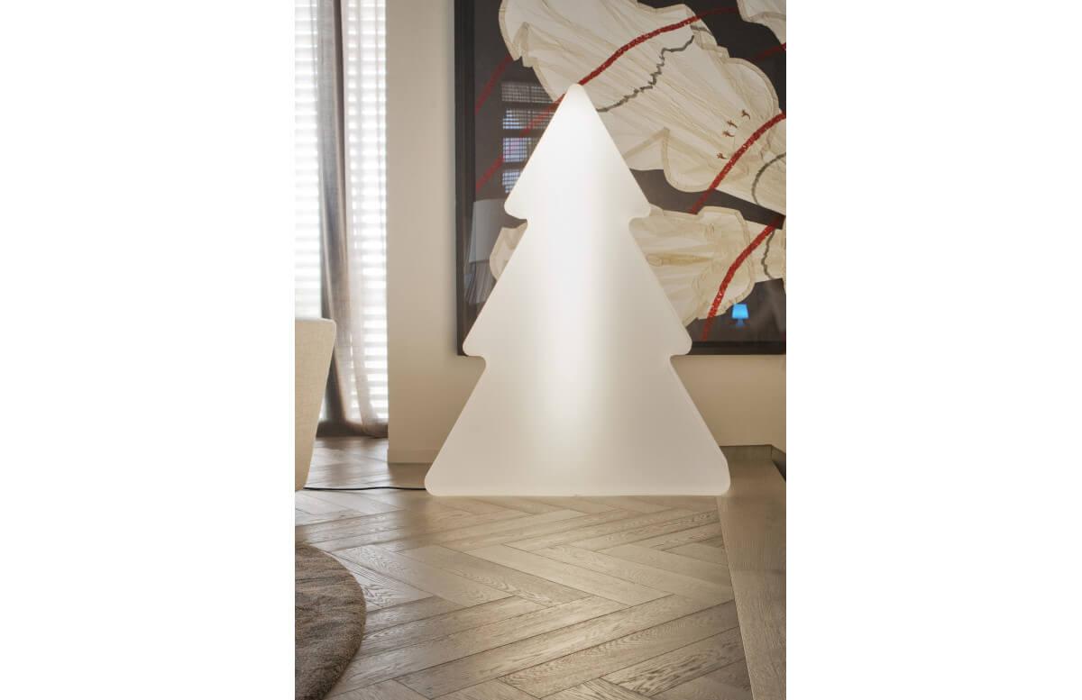 Mobilier décoratif lumineux d'extérieur filaire pinus 160 blanc NEWGARDEN