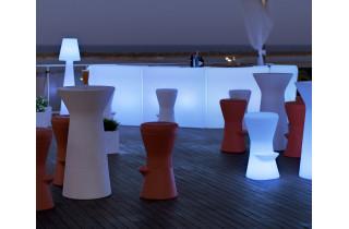 Mange debout lumineux d'extérieur filaire capri 110 blanc NEWGARDEN