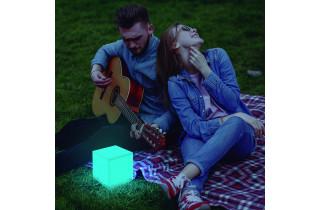 Cube lumineux d'extérieur solaire cuby 20 NEWGARDEN