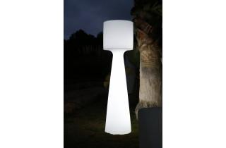 Mobilier décoratif lumineux d'extérieur filaire gufo 40 blanc NEWGARDEN