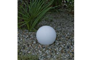 Boule lumineuse d'extérieur filaire bully 30 blanc NEWGARDEN