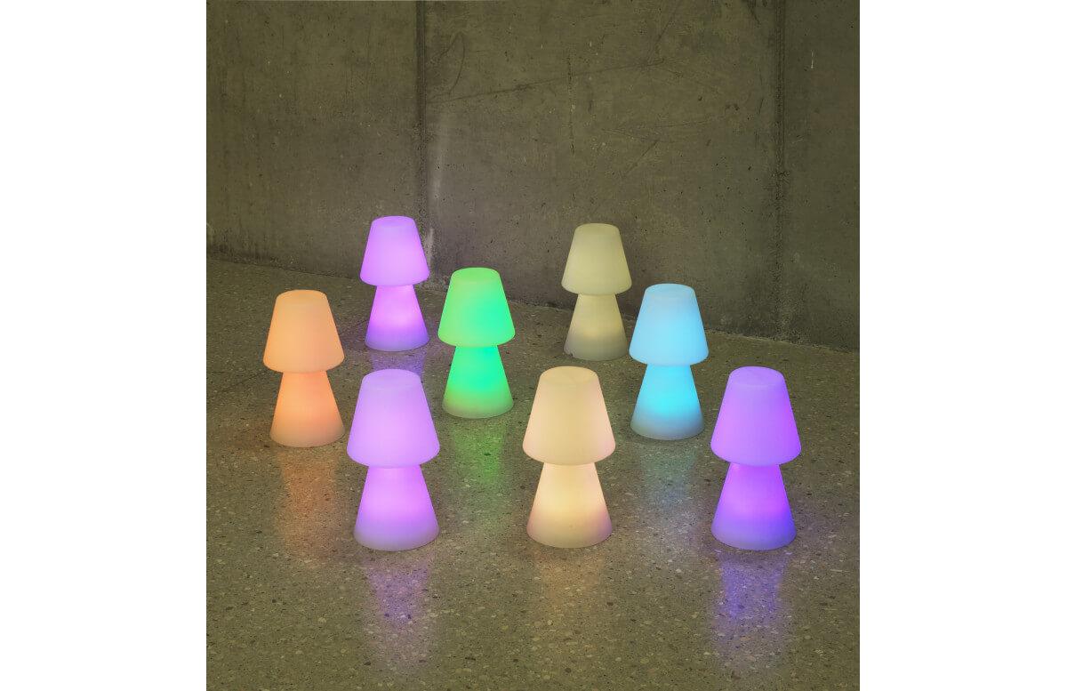 Lampe extérieure à poser rechargeable lola 30 NEWGARDEN