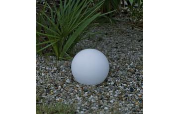 Boule lumineuse d'extérieur filaire bully 40 blanc NEWGARDEN