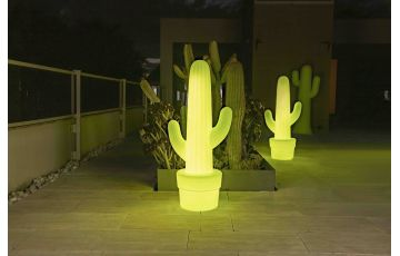 Mobilier décoratif lumineux d'extérieur rechargeable kaktus 100 NEWGARDEN