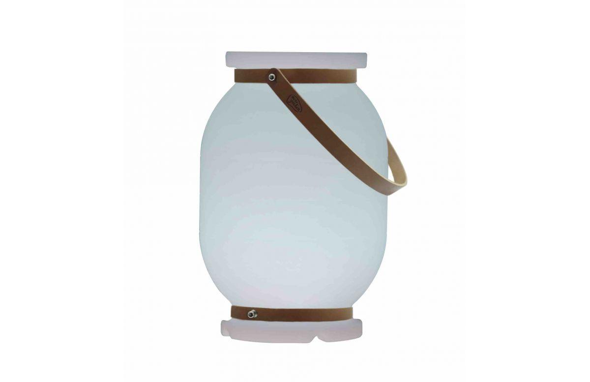 Lampe extérieure à poser filaire candela 30 blanc NEWGARDEN