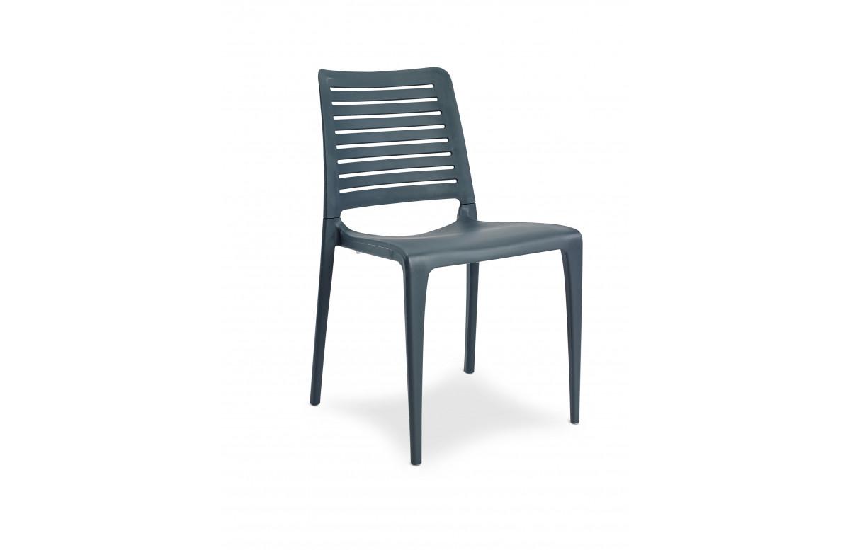 Chaise de jardin empilable PARK en polypropylène EZPELETA