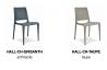 Chaise de jardin empilable HALL en polypropylène EZPELETA