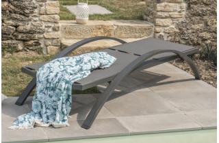 Bain de soleil design en aluminium DCB Garden BARCELONA