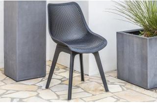 Chaise salon de jardin SCANDI perforée DCB Garden