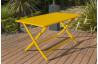 Ensemble table et chaises de jardin en aluminium 4 personnes Marius CITY GARDEN