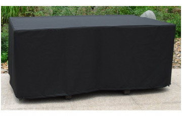 Housse de protection table de jardin rectangulaire 6-10 personnes 170x105 DCB Garden