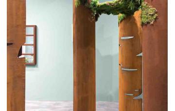Décoration de jardin en corten bruni BIG BARK - TrackDesign par Alessandra Savio
