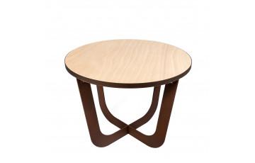 Table basse ronde en corten bruni COFFEE - TrackDesign par Valentina De Carolis