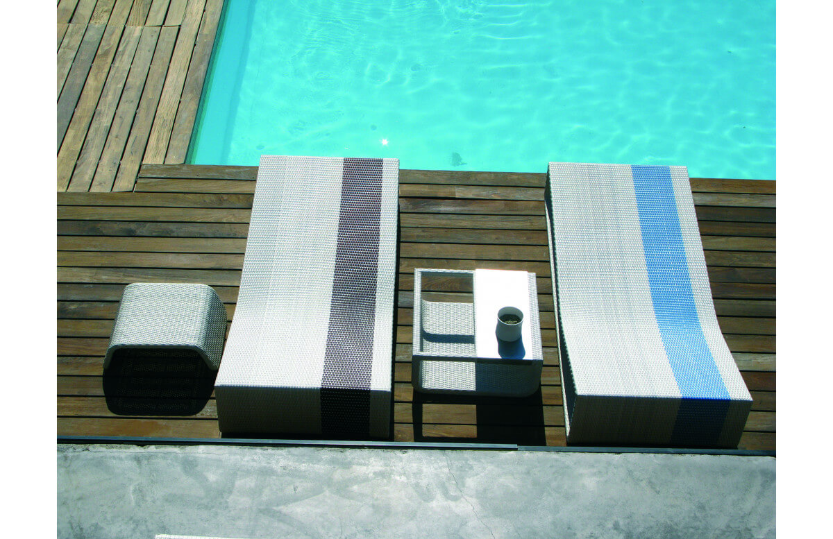 Bain de soleil en aluminium SUMMERTIME - Hémisphère Editions