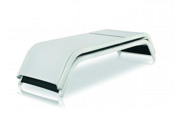 Bain de soleil empilable en aluminium BRIDGE - Hémisphère Editions