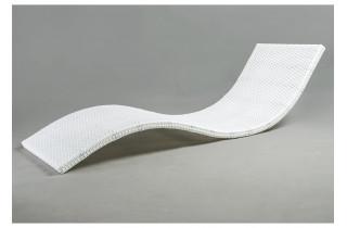 Bain de soleil empilable en aluminium EASYQUIET - Hémisphère Editions