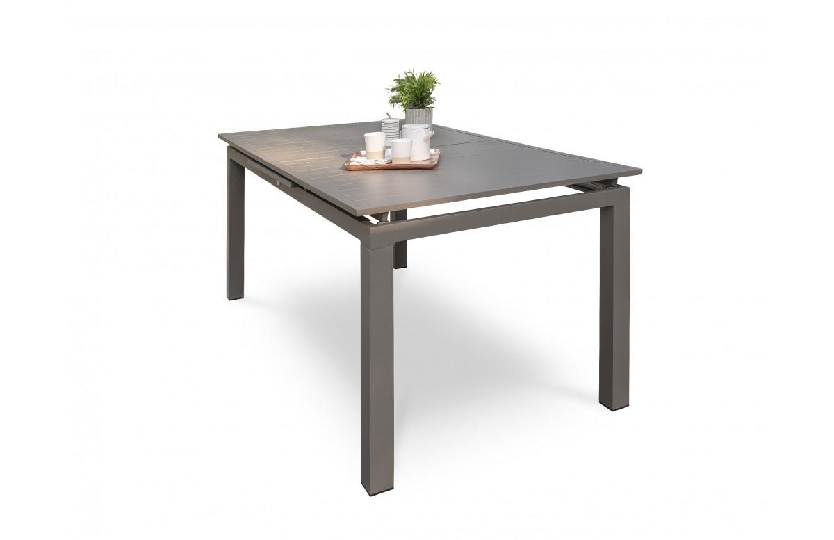 Table de jardin extensible en aluminium pour 10 personnes DCB Garden ZAHARA