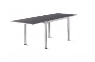 Table de jardin à rallonges aluminium/Vivodur 6 personnes - Sieger Exclusiv