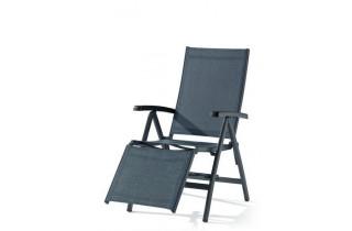 Relax de jardin inclinable aluminium/Textilux Bodega - Sieger